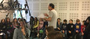 """""""Ma vie de collégien"""" : quand les élèves d'une classe ULIS passent derrière le micro"""
