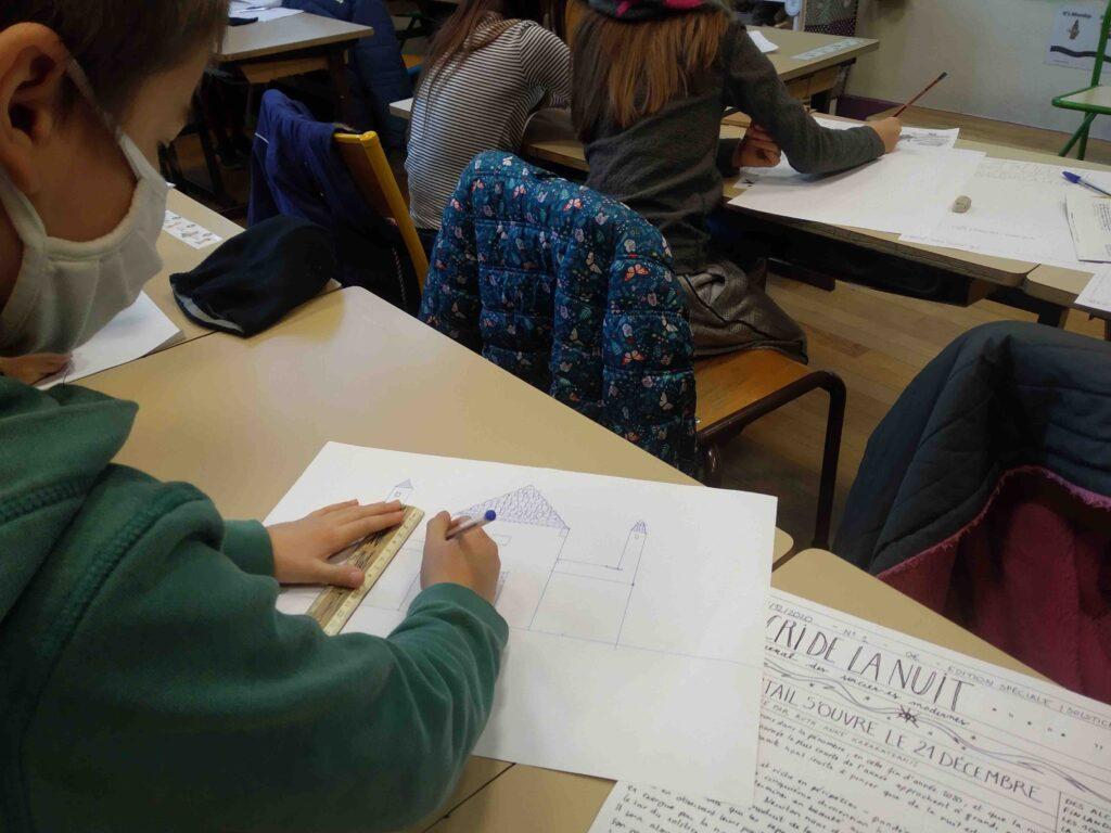 Réalisation d'un journal en classe