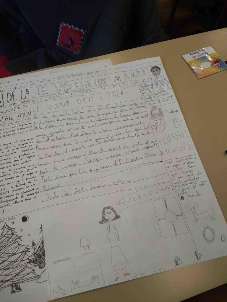 Journal d'école