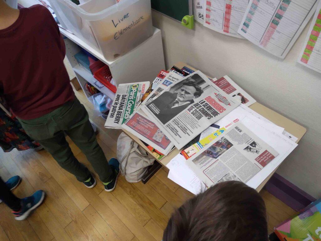 Journaux salle de classe