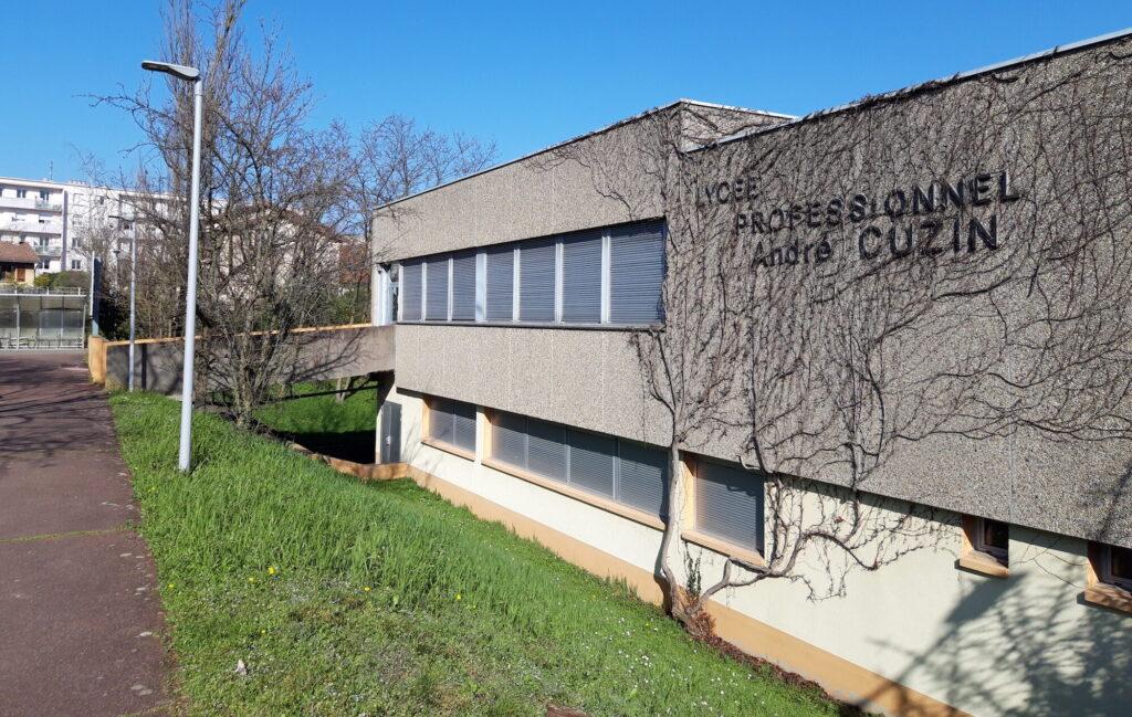 Le lycée professionnel André Cuzin à Caluire-et-Cuire, lieu d'intervention d'éducation aux médias par Rue89Lyon